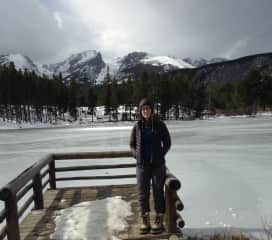 at Rocky Mountain NP