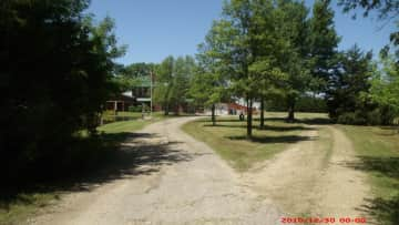 View from driveway entrance