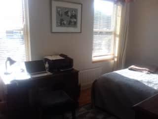 Desk space in the bedroom
