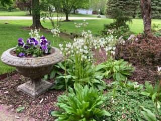 I love to garden!