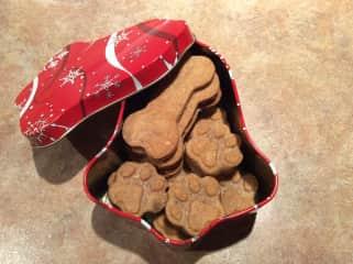 Home made doggy treats