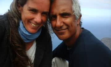 Rebecca and Deo in La Gomera