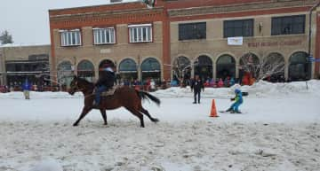 favorite things. Horseback riding, skiing, and Steamboat CO.