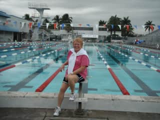 Me at Ft. Lauderdale Swimming Hall of Fame