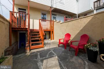 Back deck and patio