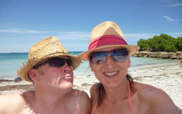 Beach Life: Swimming and snorkelling.