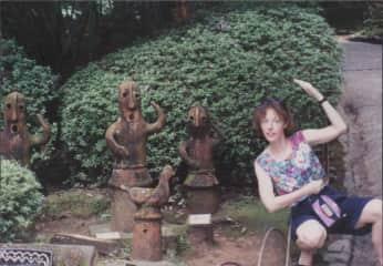 Melissa with Nature Spirits, Japan