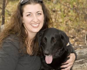 My dog Luna and I
