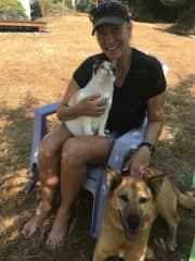Audra, Tacobeh and Gloria/ Housesit on Vashon Island, WA