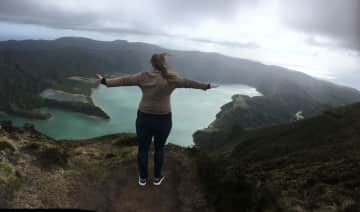 I love to travel - Me in the Azores