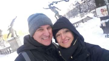 Evodio and I in Salzburg
