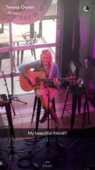 Me playing songs I wrote in Nashville, my friend took the photo :)