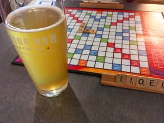 We love board games and craft beer, especially when they are paired together.