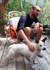 Me and little Prosiaczek (piggy:)