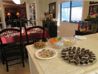 Our home & Christmas goodies