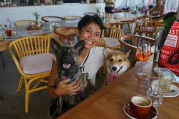 Me & my 2 girls Tyger and Kitkat