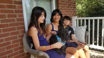 Family with Simon
