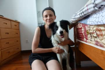 We looked after Chester in Chengdu for almost 5 weeks in June/July 2018. He was the most adorable border collie and loved running around, long walks and playing with his ball :)