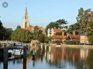 Marlow by the river