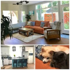 This is our new home. We understand that a home is a precious investment in many ways. We will care for your home and for your fur babies like our own.