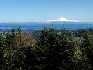 Mt Baker from our deck