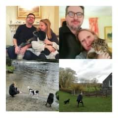 Daisy, Eddie and Harley, Clane, Ireland