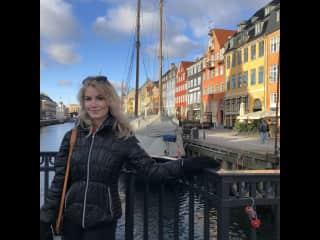 My daughter in Copenhagen, Denmark