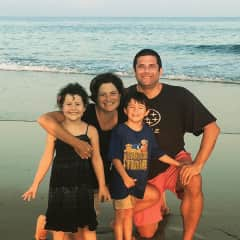 Our family at the beach