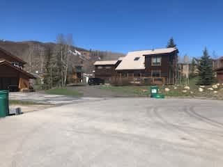 A shot of our place in Crested Butte, Colorado.