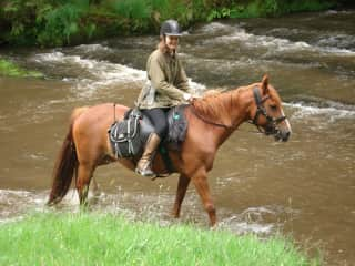A favoutie holiday is unguided trail riding - here in Wales