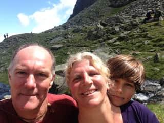 Silvia, Rick and Liam