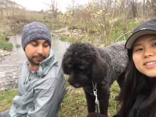with Phebe in London, Ontario.