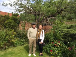 Ed & Susan in Southwell, England
