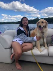 Boating with Sky!