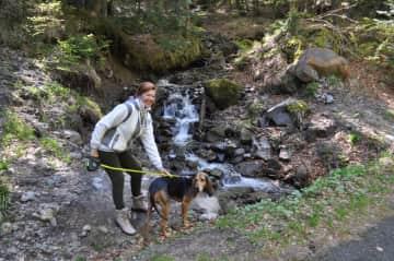 Eva with Bella