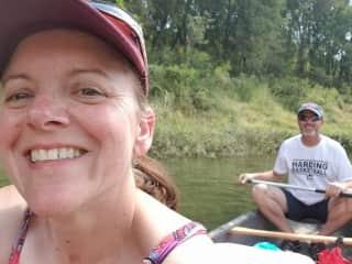 we like to kayak and camp