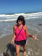 Me n Mia at doggy beaches
