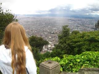 Mount Monserrate. Bogota, Colombia