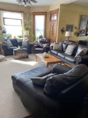 Comfortable living spaces throughout