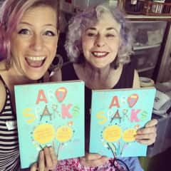 """I co-authored a book of children's art projects with a friend. """"Art Sparks"""" was released nationally in September of this year!"""