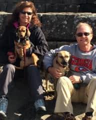 Dakota and Mandy with Bob and Patti