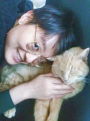 Me and my friend's cat