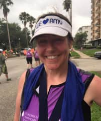 St. Anthony's Triathalon in St Pete, FL. with Team in Training.
