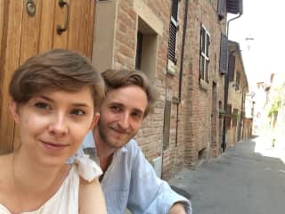 Paulina and Gabriele