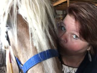 Me and one of my favorite horses I enjoy riding