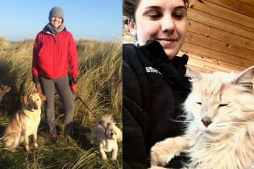 Pet friends from California and across the pond in Ireland