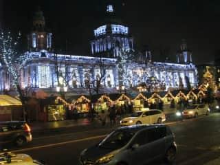 Christmas in Belfast.
