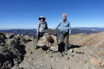 Wheeler Peak in Taos, NM.