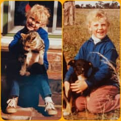 My love of animals started in childhood