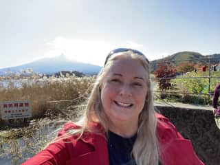 After a pet sit in Tokyo, I went to Mt Fuji!